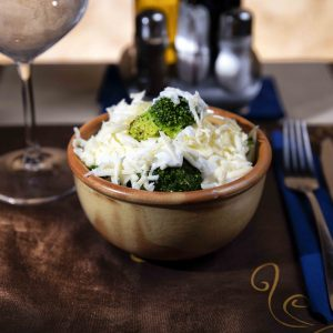 Broccoli with cheese and sour cream (250 g)
