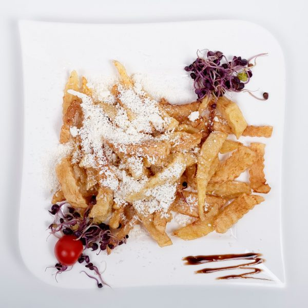 Fries with cheese (200 g)