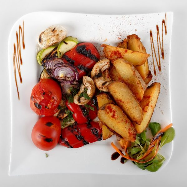 Grilled vegetables with garlic (250 g)