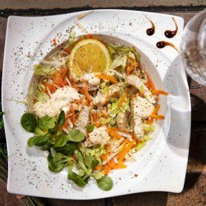 Salata de telina cu pui si maioneza