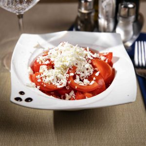 Tomato and cheese salad (200 g)