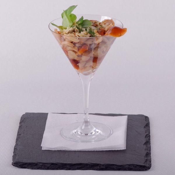 Salata de bureti murati cu usturoi (200 g)