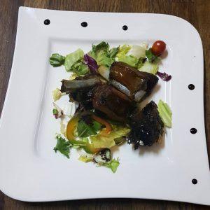 Coaste de porc afumate (garnita) (200 g)