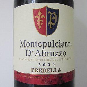 Montepulciano D'Abruzzo Predella 12%