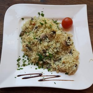 Rice with mushrooms (250 g)