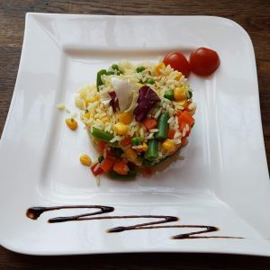 Rice with mexican vegetables  (250 g)