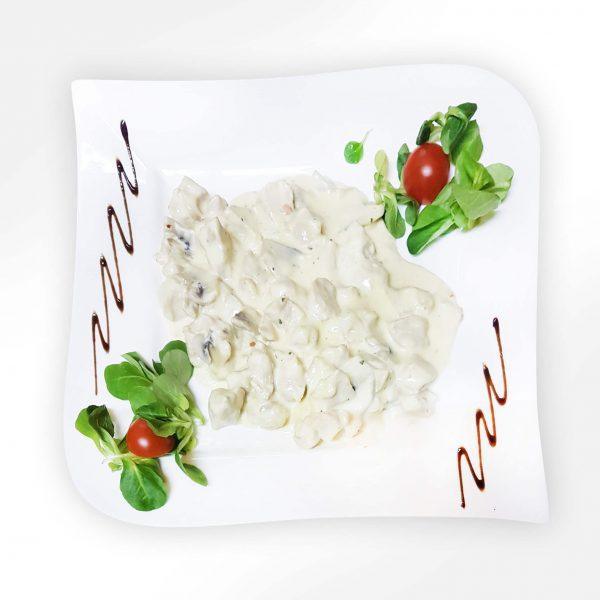 Piept de curcan cu sos de ciuperci (250/50 g)