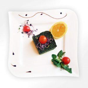 Sote de spanac cu usturoi (250 g)