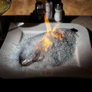 Dorada in crusta de sare