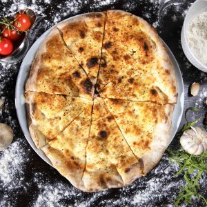 FOCACCIA WITH GARLIC